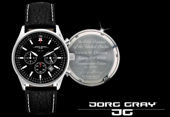 "Обзор часов Jorg Gray JG 6500 ""The President Barack Obama"""
