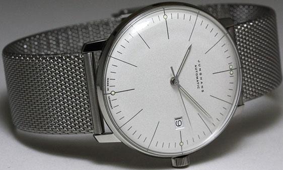 Обзор наручных часов Junghans Max Bill Handaufzug