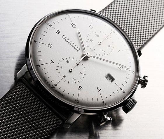 Обзор наручных часов Junghans Max Bill Chronoscope
