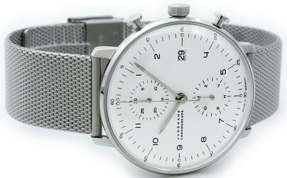 Обзор часов Junghans Max Bill Chronoscope