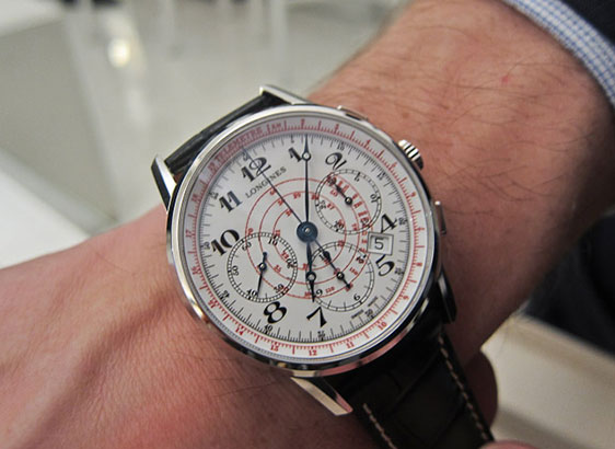 Longines Telemeter Chronograph and Tachymeter Chronograph