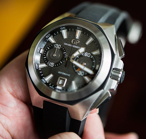 Обзор наручных часов Girard-Perregaux Chrono Hawk