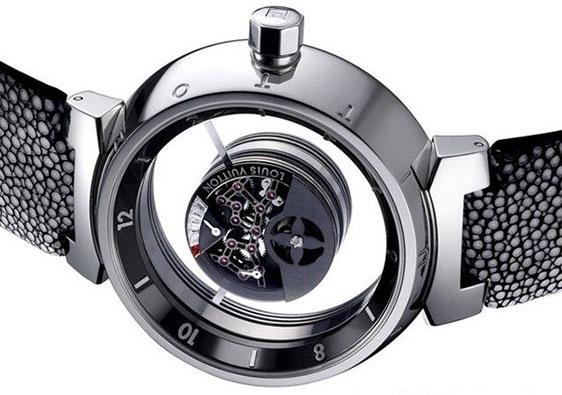 Обзор наручных часов Louis Vuitton Tambour Mysterieuse