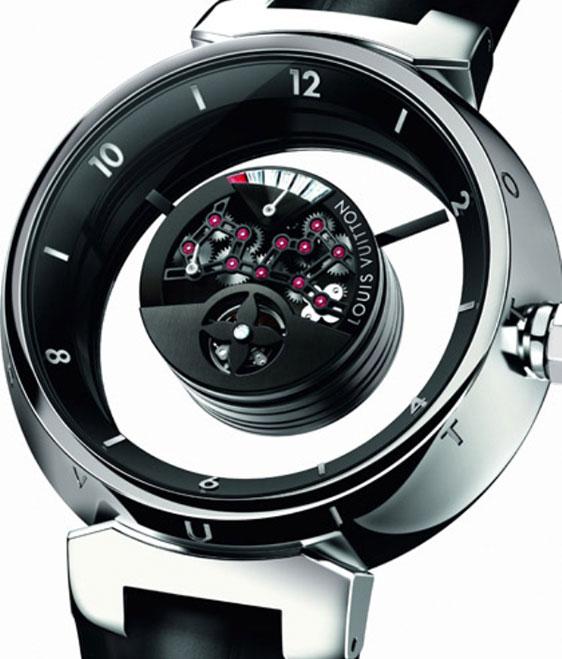 Обзор мужских  часов Louis Vuitton Tambour Mysterieuse