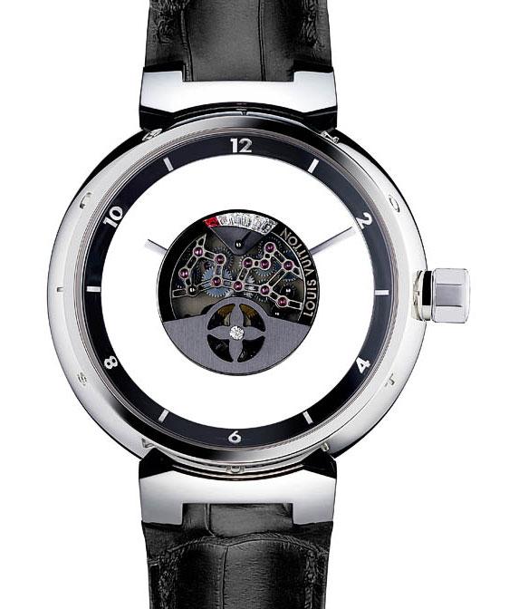 Обзор унисекс часов Louis Vuitton Tambour Mysterieuse