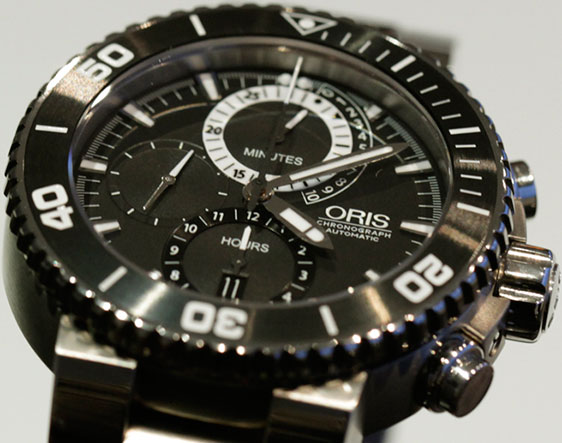 Обзор часов Oris Carlos Coste Cenote Limited Edition