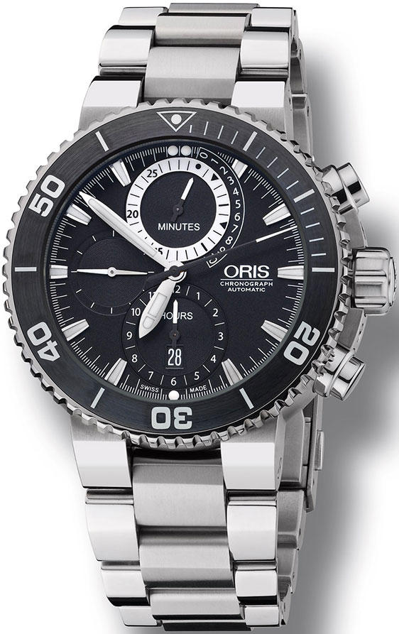 Review of Swiss watches Oris Carlos Coste Cenote Limited Edition