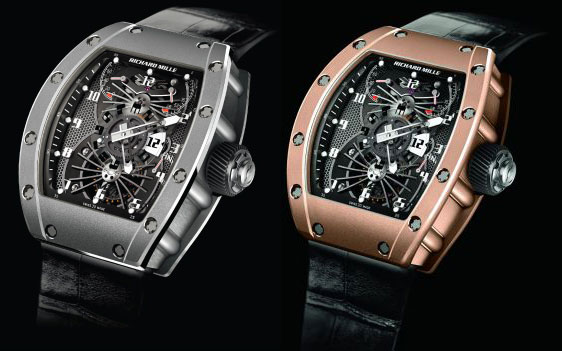 Обзор часов Richard Mille RM022 Tourbillon Aerodyne Dual Time Zone