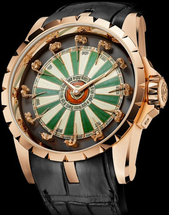 Обзор часов Roger Dubuis Excalibur Table Ronde Limited Edition 88