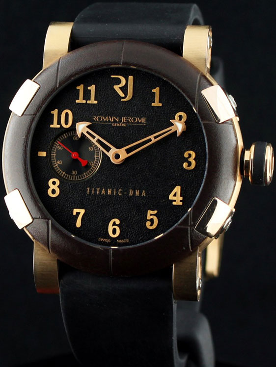 Review of men's watches Romain Jerome Titanic DNA T-OXY III
