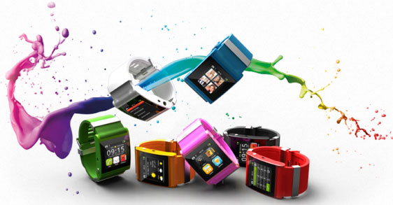 умные наручные часы Sony  Smart Watch