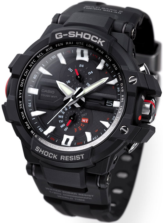 Обзор часов Casio G-Shock Aviation GW-A1000