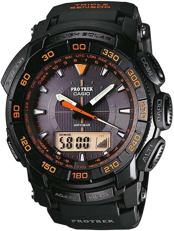 Обзор часов Casio Protrek PRG-550