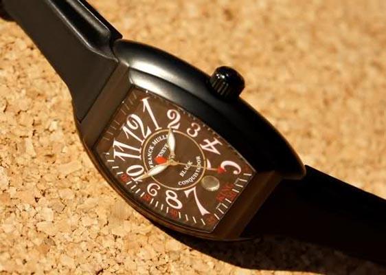Обзор часов Franck Muller Black Conquistador King Date 8005