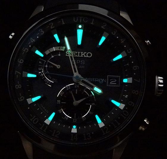 Японские часы Seiko Astron GPS Solar