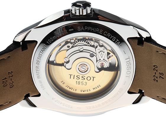 Наручные часы Tissot Mens Couturier Black Dial T035.407.16.051.00