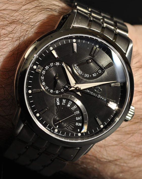 Японские часы Orient Star SDE00002B0 Retrograde