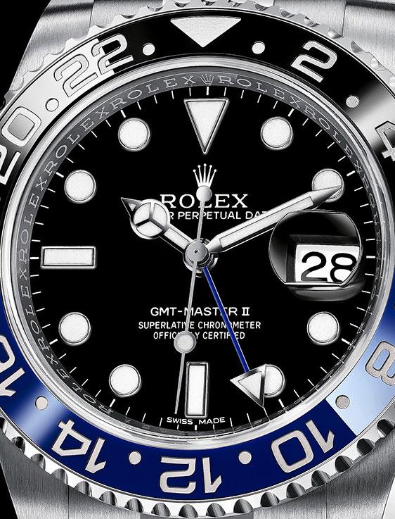 Обзор часов Rolex GMT-Master II Ref. 116760BLNR