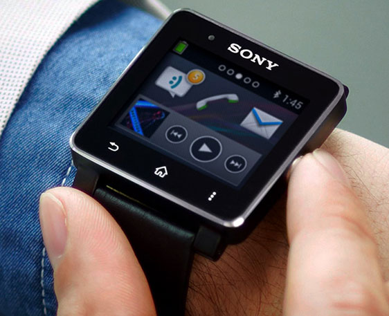 Smart touchscreen Sony SmartWatch 2