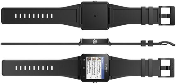 Умные сенсорные часы Sony SmartWatch 2
