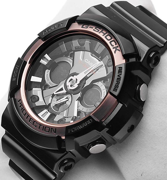 Обзор часов Casio G-Shock GA-200RG-1A