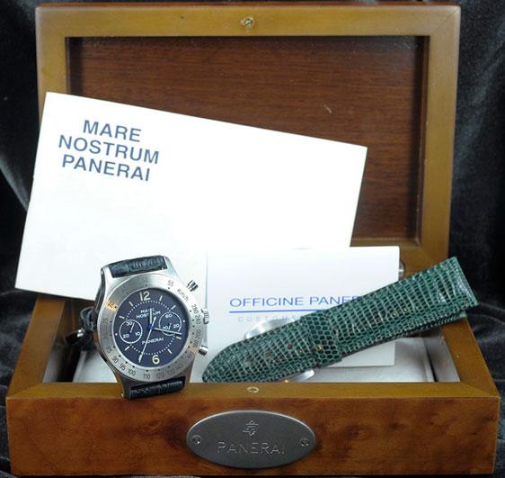 Обзор часов Panerai Pre Vendome Mare Nostrum Chronograph - Ref 5218-301/A