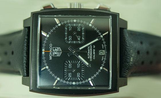 Обзор часов TAG Heuer Monaco Calibre 12 Chronograph Automobile Club de Monaco
