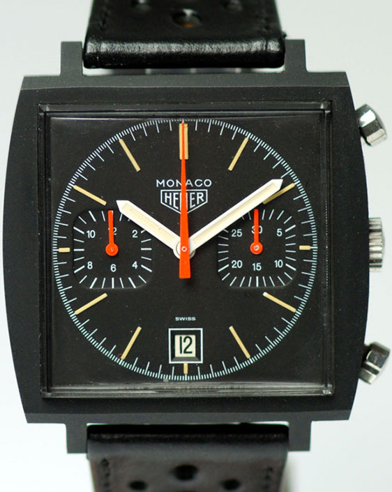 Старая модель 1970 года Calibre 11 Black Monaco