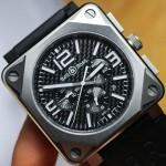 Обзор часов Bell & Ross BR01-94 Pro Titanium Carbon Fiber Dial
