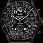 Наручные часы для космонавтов Breitling Navitimer Cosmonaute Blacksteel Limited Edition