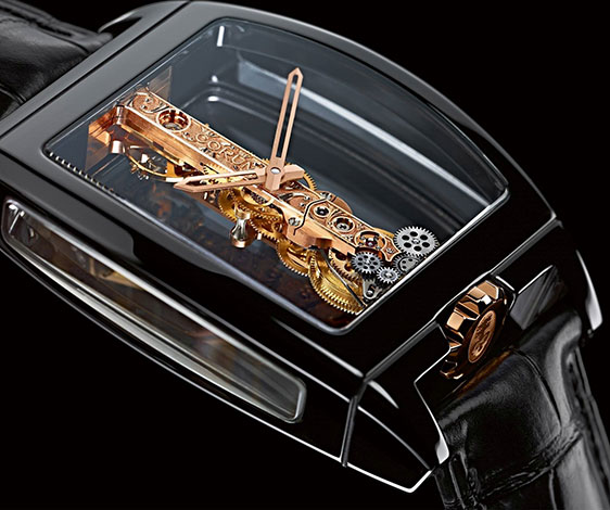 Обзор часов Corum Golden Bridge Ceramic