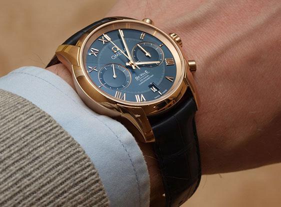 Обзор часов Omega De Ville Co-Axial Chronograph