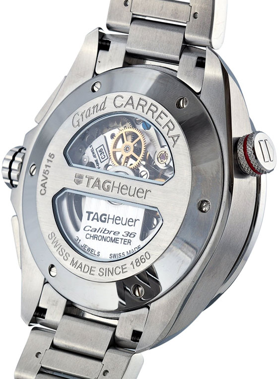 Обзор часов TAG Heuer Grand Carrera Caliber 36 RS Caliper Chronograph