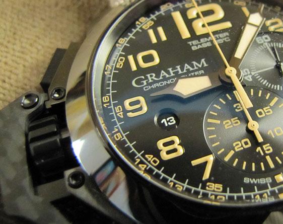 Обзор часов Graham Chronofighter Oversize: Black Sahara и K2