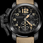 Обзор часов Graham Chronofighter Oversize: Black Sahara и K2