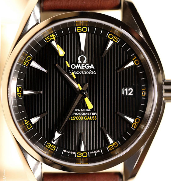 Обзор часов Omega Seamaster Co-Axial Aqua Terra 15000 Gauss