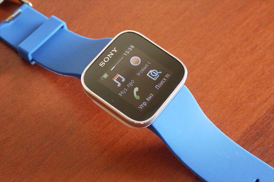 Обзор умных часов Sony SmartWatch MN2