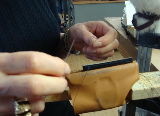 Как делают кожаные ремешки для часов