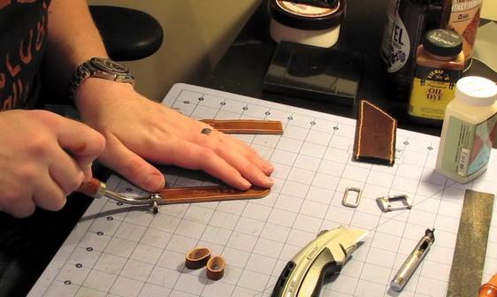 Изготовление часовых ремешков из кожи